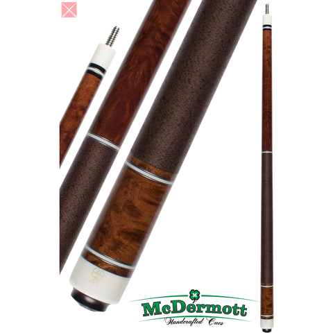 McDermott Pool Cue - G-Series, G236, G-Core Shaft, Dark Cherry - absolute cues