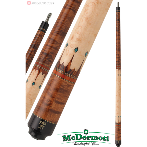 McDermott Pool Cue - G-Series, G407, G-Core Shaft, American Cherry - absolute cues