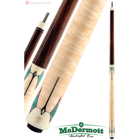 McDermott Pool Cue - G-Series, G411, G-Core Shaft, Rosewood No Wrap - absolute cues