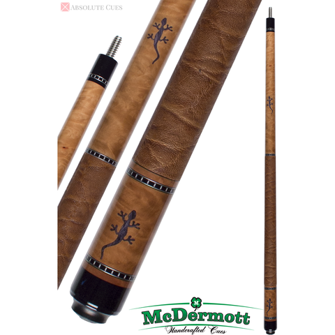 McDermott Pool Cue - G-Series, G417, G-Core Shaft, Gecko Inlays - absolute cues
