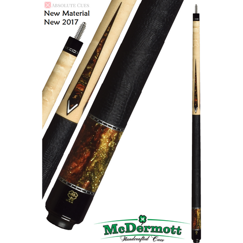 McDermott Pool Cue - G-Series, G431, G-Core Shaft, Midnight Glow - absolute cues
