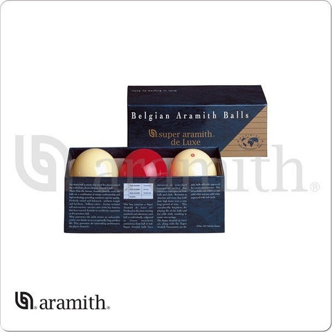 Aramith Billiards Ball Set - BBACDLX - Super de Luxe Carom Set - absolute cues