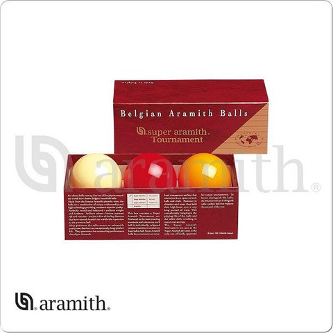 Aramith Billiards Ball Set - BBACTRN - Super Tournament Carom Set