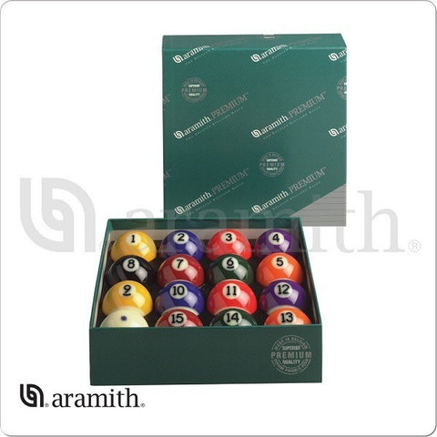 Aramith Billiards Balls - BBPM - Premium Numbered Ball Set - absolute cues