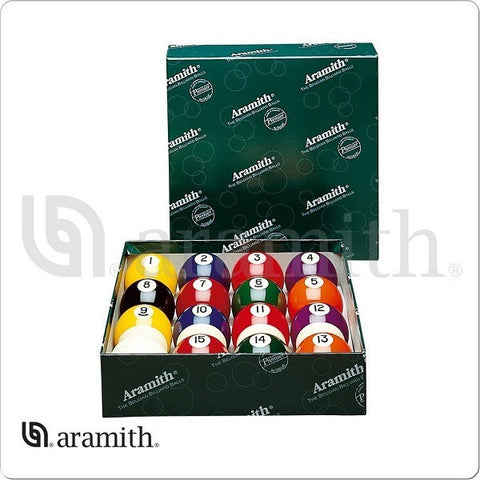 Aramith Billiards Balls - BBPR - Premier Numbered Ball Set - absolute cues