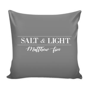 SALT & LIGHT PILLOW