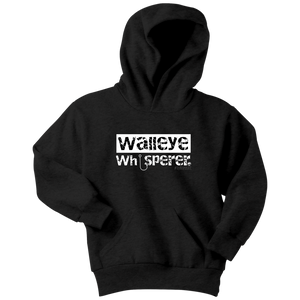 Walleye Whisper Youth Hoodie