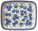 372-Art277 large shallow rectangular baker top view