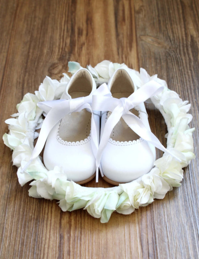 Chloe white shoes