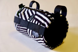 ABCSF Handlebar Bag-Black and White