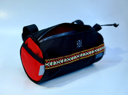 ABCSF Handlebar Bag- Black and Red