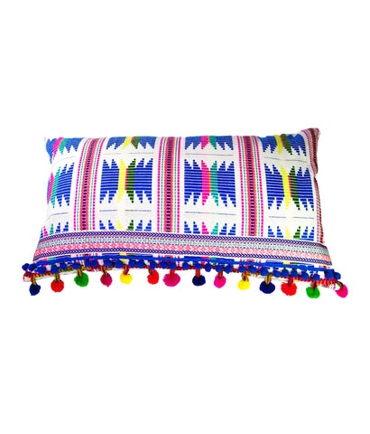 Carnaval crazy rectangular cushion