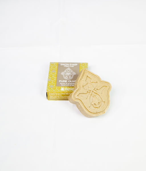 Pure olive soap with laurel and ginger