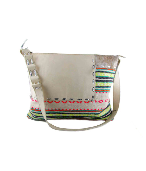Jasmine patchwork cross body bag