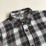 Bonpoint Cotton Check Shirt