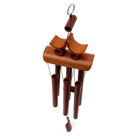 Bamboo Wind Chime Hanging Decor