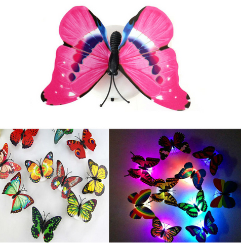 Butterfly Night Lamp Home Decoration