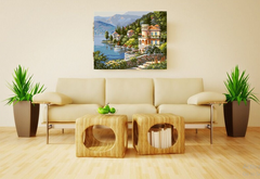 Seascape Frameless Painting for Home Decor