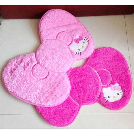 Hello Kitty Bow Style Door Mat