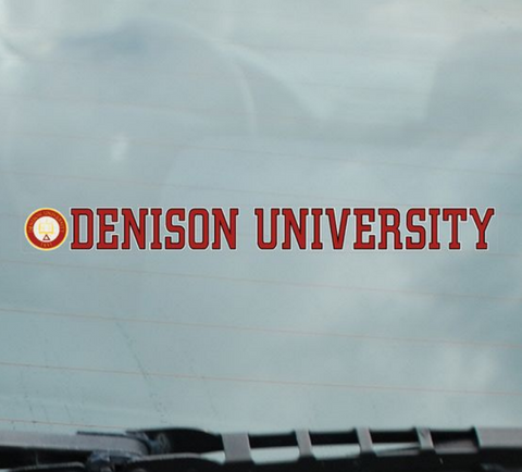 Denison Decal with Seal-gifts-decals-Shop Denison