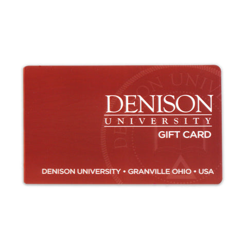 Denison University $100.00 Bookstore Gift Card-gifts-card-Shop Denison
