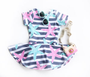 Starfish Skirted Leotard