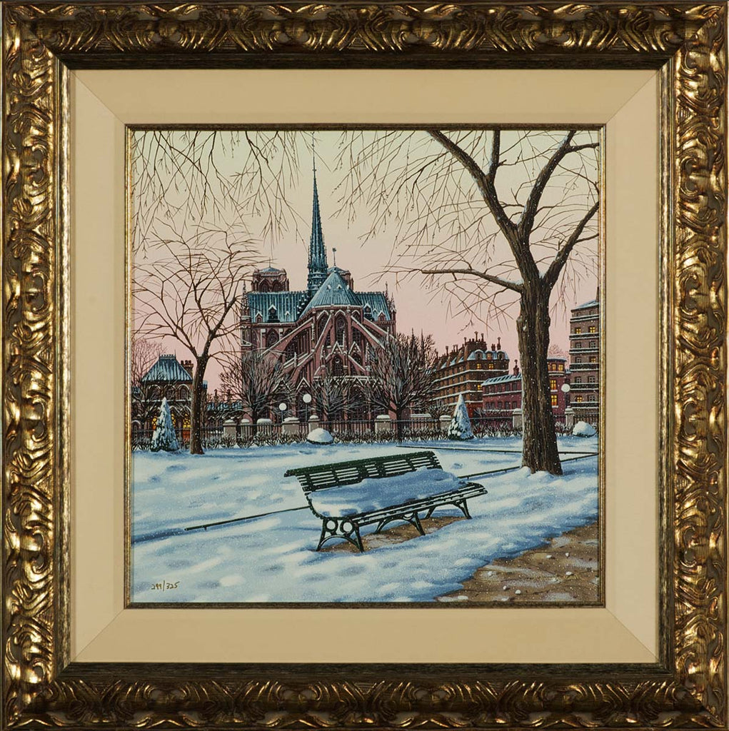 Liudmila_Kondakova_Notre_Dame_in_Winter_Postcards_from Paris