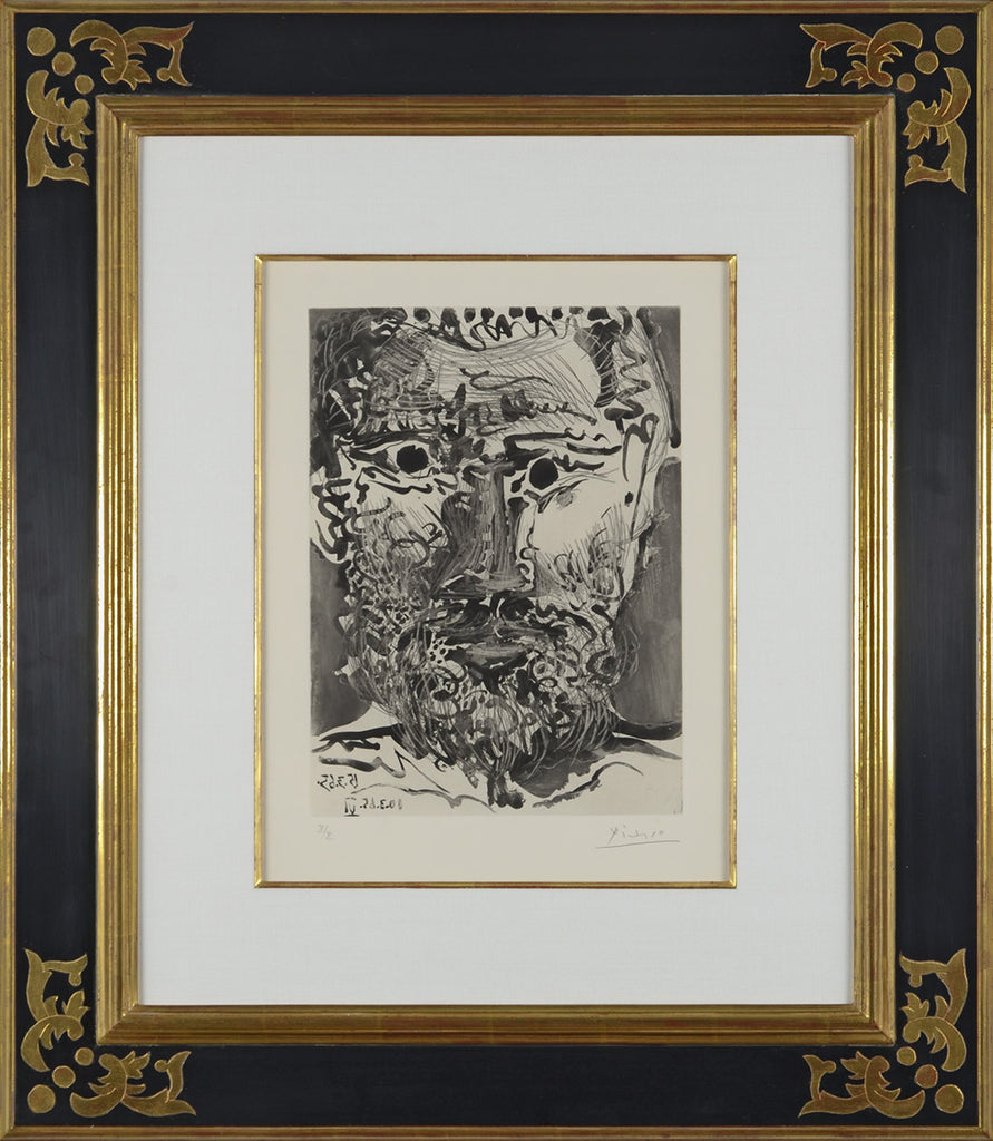 Pablo_Picasso_Head_of_a_Bearded_Man_II