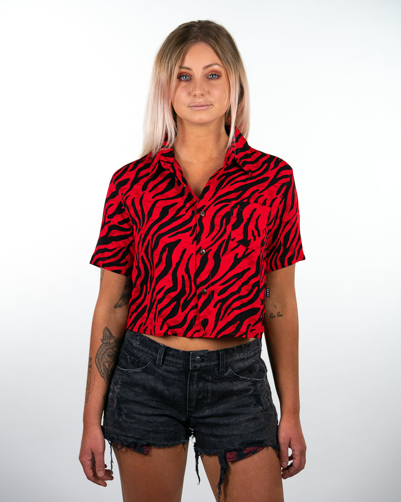 Venice Crop Shirt - Tigerblood