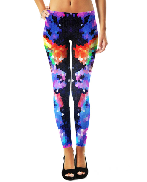 Crystal Symmetry Leggings