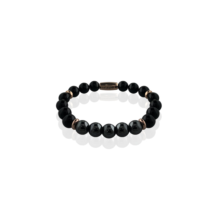 "Spiritual beaded baby bracelet 6"" - Vantani Wedding Bands"