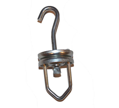 Swivel V Rotating Hook - Perfect for Paint and Powder Coating! Holds up to 200LBS! - Hanging Hooks