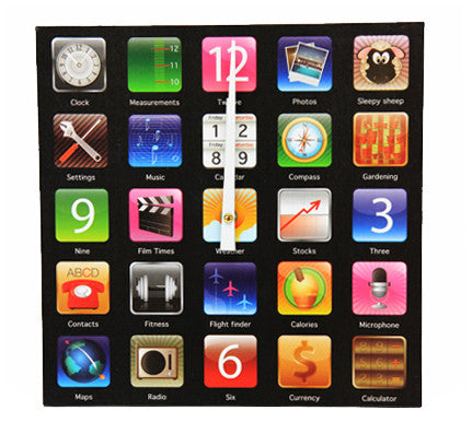 Apps Wall Clock - Work Home Play