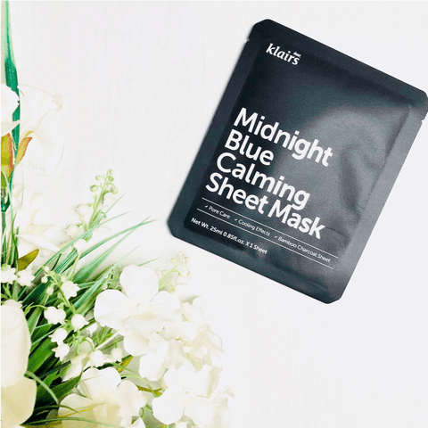 Sheet Masks - KLAIRS Midnight Blue Calming Sheet Mask