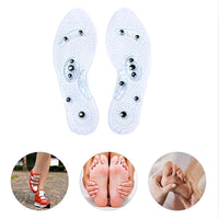 2 Pair of  Magnetic Massage Insole - Massaging Your Foot To Better Health