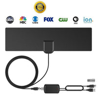 NEWEST! HDTV Antenna with Amplifier Signal Booster Indoor