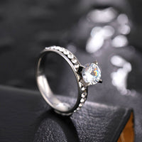 Fashion Jewelry - Women Circle Titanium Rings