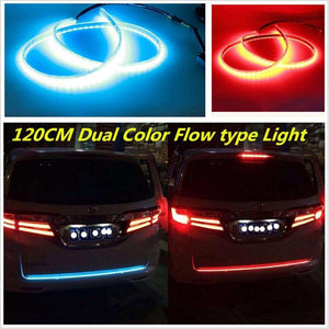 Car Light Assembly - Flow LED Strip Trunk Light - Make Your Car Look More Cool!