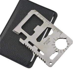 Knife - 11 In 1 Amazing Multi-Tool Credit Card Knife *FREE SHIPPING*