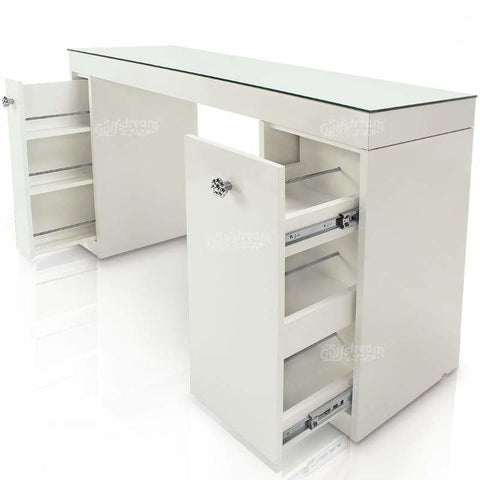 Gulfstream Gulfstream Vienna Single Manicure Nail Table Manicure Nail Table - ChairsThatGive