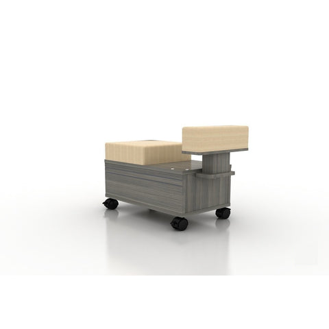 Mayakoba Mayakoba Alera Pedicure Cart with Footrest Work Station - ChairsThatGive