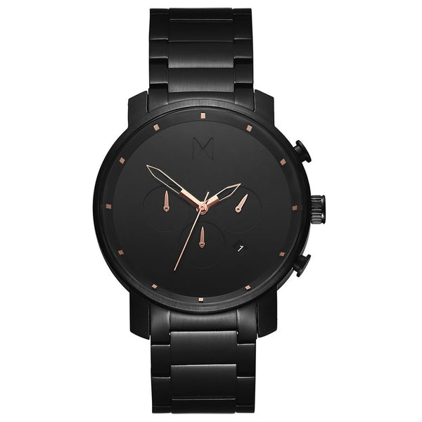 MVMT-Mens Chrono Black Rose 45 mm-Watch-D-MC01-BBRG-THE UNIT STORE