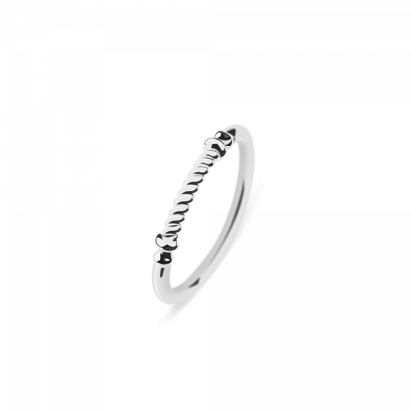 Ring Rope Portside Steel__Paul Hewitt_Jewellery_THE UNIT STORE