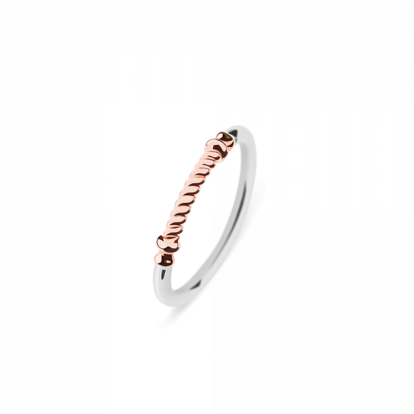 Ring Rope Portside IP Rose Gold / Stainless Steel__Paul Hewitt_Jewellery_THE UNIT STORE