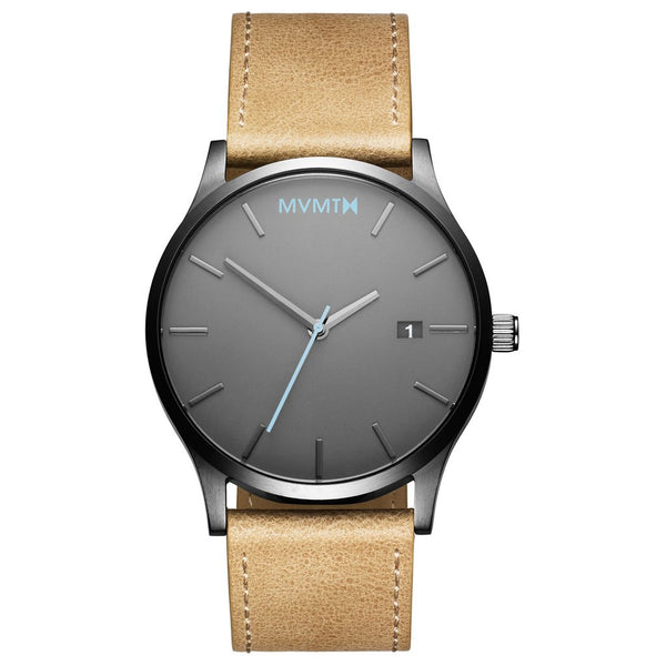MVMT-Mens Classic Gunmetal Sandstone 45 mm-Watch-D-MM01-GML-THE UNIT STORE