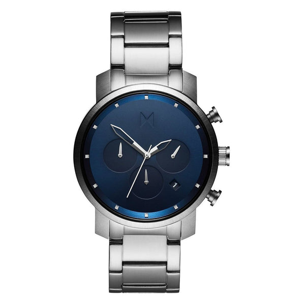 MVMT-Mens Chrono 40 Midnight Silver 40 mm-Watch-D-MC02-SBLU-THE UNIT STORE
