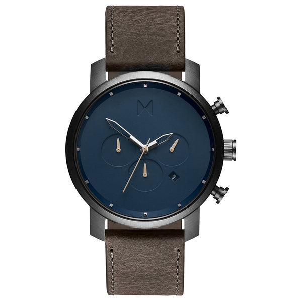 Mens Chrono Matte Blue Cedar 45 mm__MVMT_Watch_THE UNIT STORE