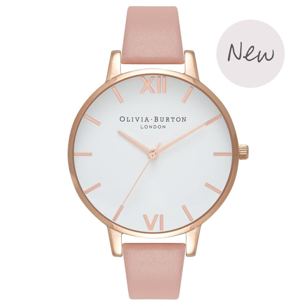 White Dial Big Dial Dusty Pink & Rose Gold__OLIVIA BURTON_Watch_THE UNIT STORE