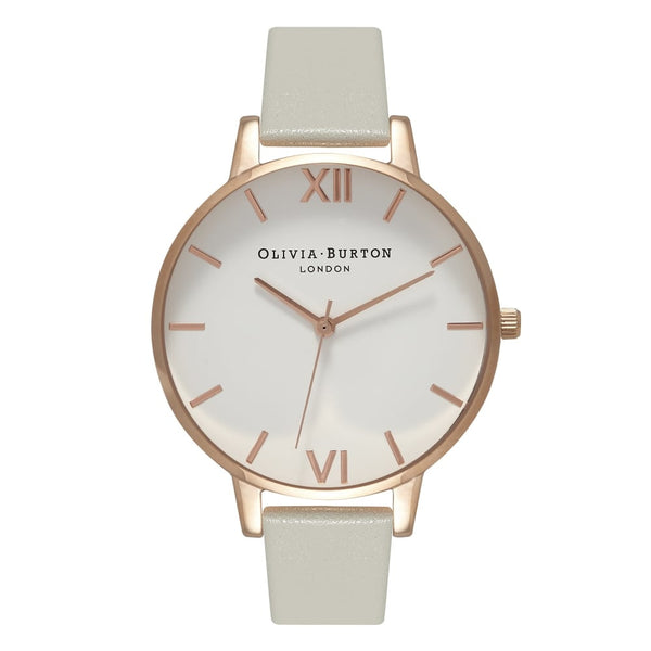 White Dial Big Dial Grey & Rose Gold__OLIVIA BURTON_Watch_THE UNIT STORE