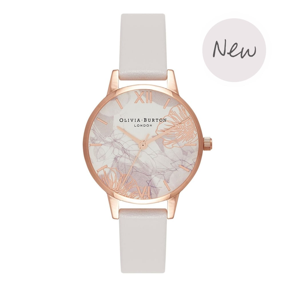 OLIVIA BURTON-Abstract Florals Blush & Rose Gold-Watch-OB16VM12-THE UNIT STORE